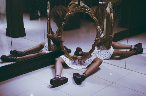 a casa do espelho